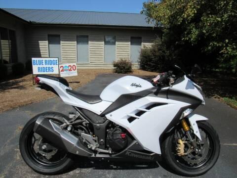 2013 Kawasaki Ninja 300 for sale at Blue Ridge Riders in Granite Falls NC