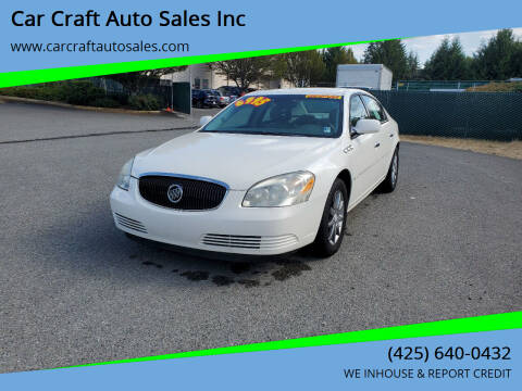 2007 Buick Lucerne for sale at Car Craft Auto Sales Inc in Lynnwood WA
