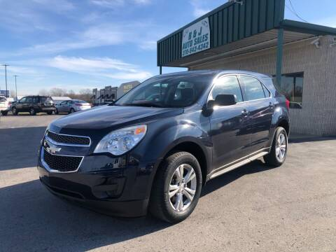 2015 Chevrolet Equinox for sale at B & J Auto Sales in Auburn KY