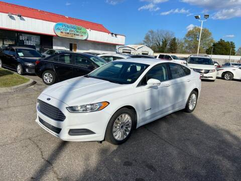 2014 Ford Fusion Hybrid for sale at Premium Auto Brokers in Virginia Beach VA