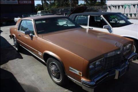 1983 Cadillac Eldorado for sale at Frank Corrente Cadillac Corner in Hollywood CA