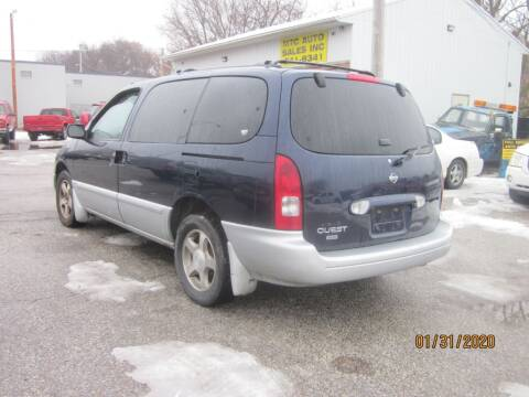 2002 Nissan Quest for sale at MTC AUTO SALES in Omaha NE