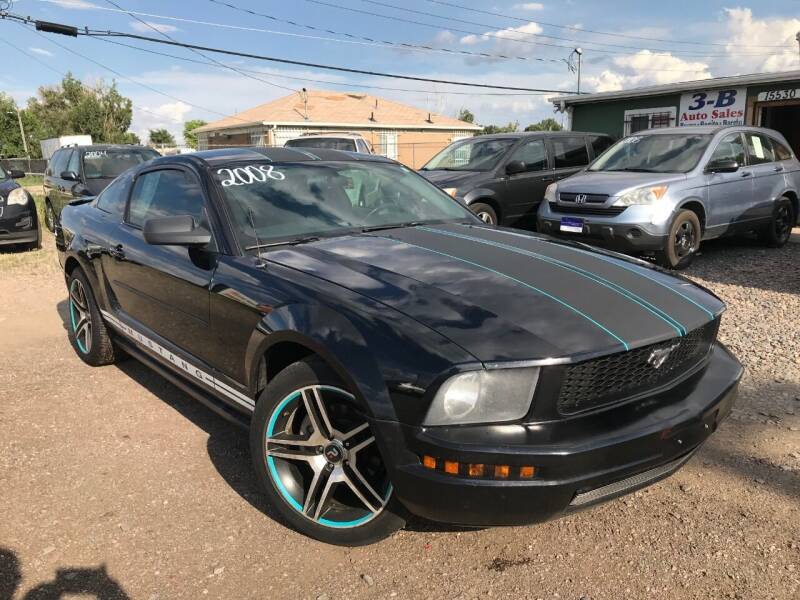 2008 Ford Mustang for sale at 3-B Auto Sales in Aurora CO