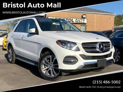 2016 Mercedes-Benz GLE for sale at Bristol Auto Mall in Levittown PA