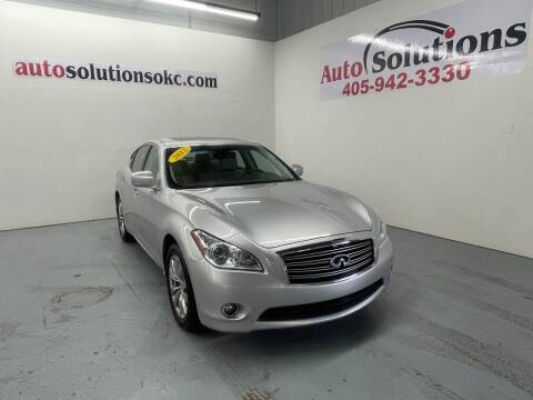 2012 Infiniti M37 for sale at Auto Solutions in Warr Acres OK