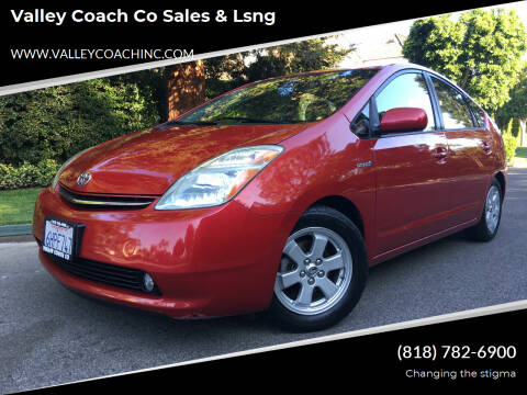 2007 Toyota Prius for sale at Valley Coach Co Sales & Lsng in Van Nuys CA