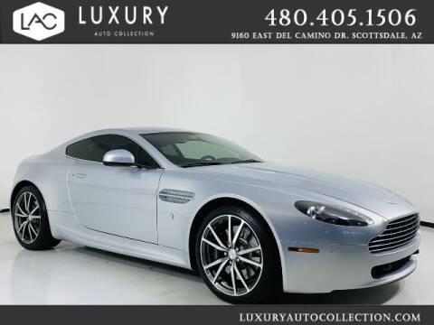 2010 Aston Martin V8 Vantage for sale at Luxury Auto Collection in Scottsdale AZ
