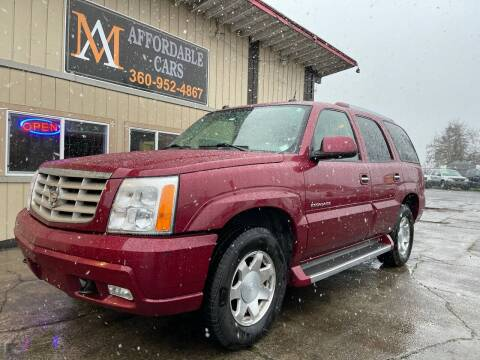 2005 Cadillac Escalade for sale at M & A Affordable Cars in Vancouver WA