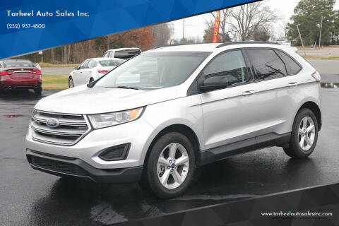 2017 Ford Edge for sale at Tarheel Auto Sales Inc. in Rocky Mount NC