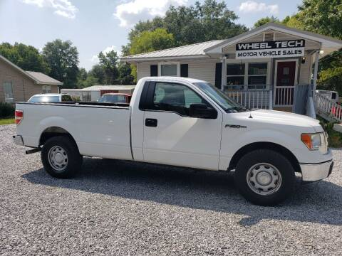2014 Ford F-150 for sale at Wheel Tech Motor Vehicle Sales in Maylene AL