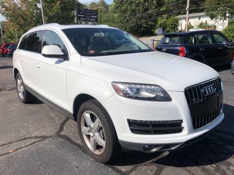 2013 Audi Q7 for sale at Premier Automart in Milford MA