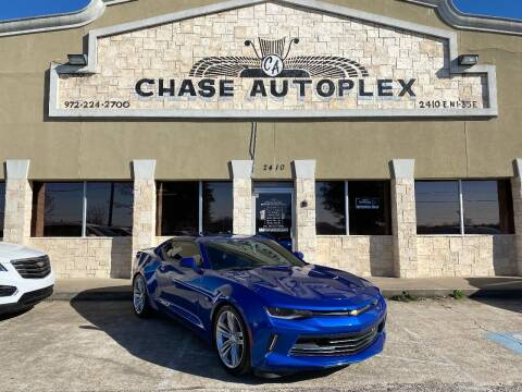 2017 Chevrolet Camaro for sale at CHASE AUTOPLEX in Lancaster TX