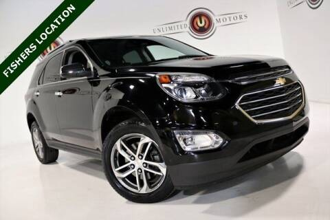 2016 Chevrolet Equinox for sale at Unlimited Motors in Fishers IN