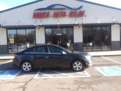 2015 Chevrolet Cruze for sale at DOUG'S AUTO SALES INC in Pleasant View TN