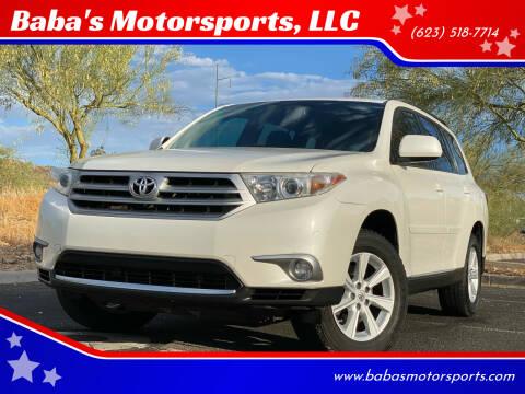 2011 Toyota Highlander for sale at Baba's Motorsports, LLC in Phoenix AZ