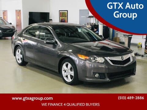 2010 Acura TSX for sale at GTX Auto Group in West Chester OH