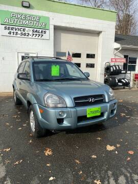 2008 Hyundai Tucson for sale at Pikeside Automotive in Westfield MA