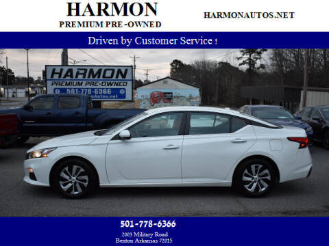 2019 Nissan Altima for sale at Harmon Premium Pre-Owned in Benton AR