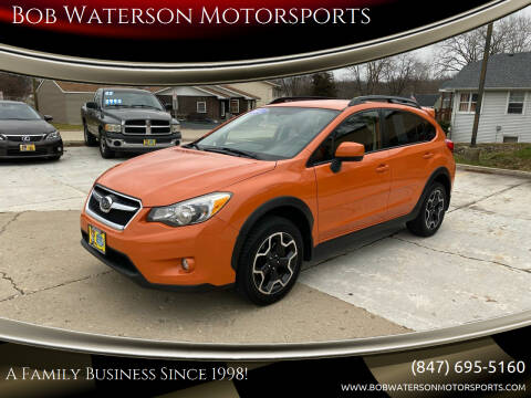 2014 Subaru XV Crosstrek for sale at Bob Waterson Motorsports in South Elgin IL