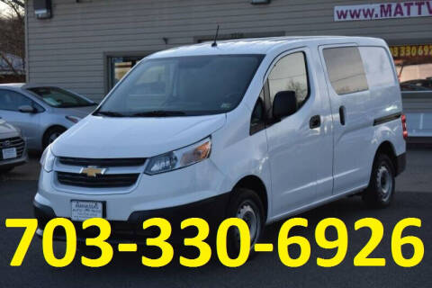 2017 Chevrolet City Express Cargo for sale at MANASSAS AUTO TRUCK in Manassas VA