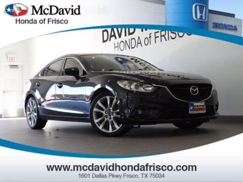 2016 Mazda MAZDA6 for sale at DAVID McDAVID HONDA OF IRVING in Irving TX