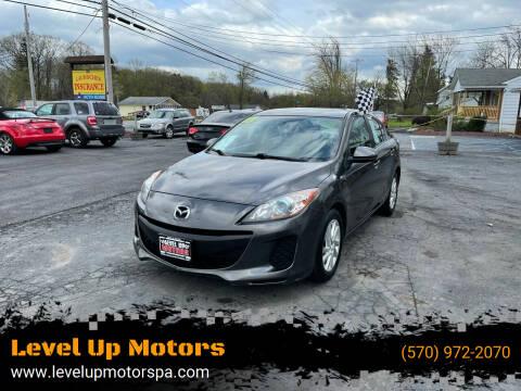 2013 Mazda MAZDA3 for sale at Level Up Motors in Tobyhanna PA