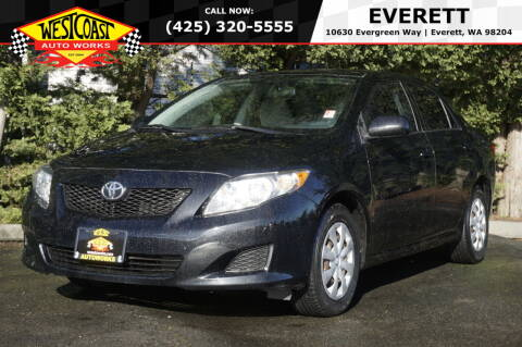 2009 Toyota Corolla for sale at West Coast Auto Works in Edmonds WA
