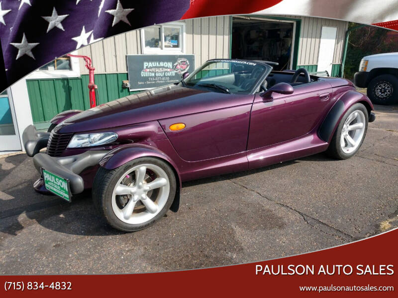 1997 Plymouth Prowler for sale at Paulson Auto Sales in Chippewa Falls WI