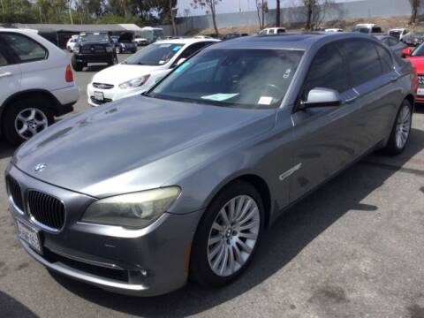 2009 BMW 7 Series for sale at SoCal Auto Auction in Ontario CA