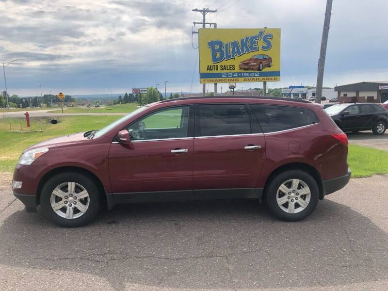 2011 Chevrolet Traverse for sale at Blake's Auto Sales in Rice Lake WI
