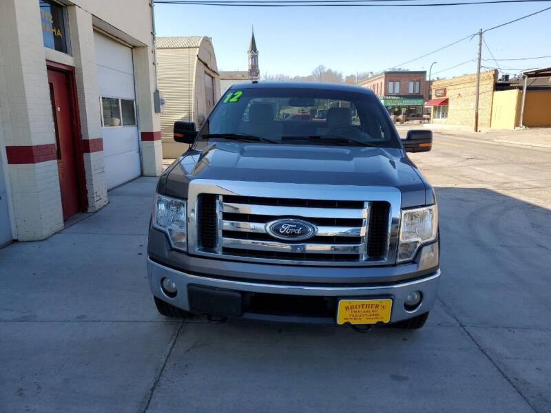 2012 Ford F-150 for sale at Brothers Used Cars Inc in Sioux City IA