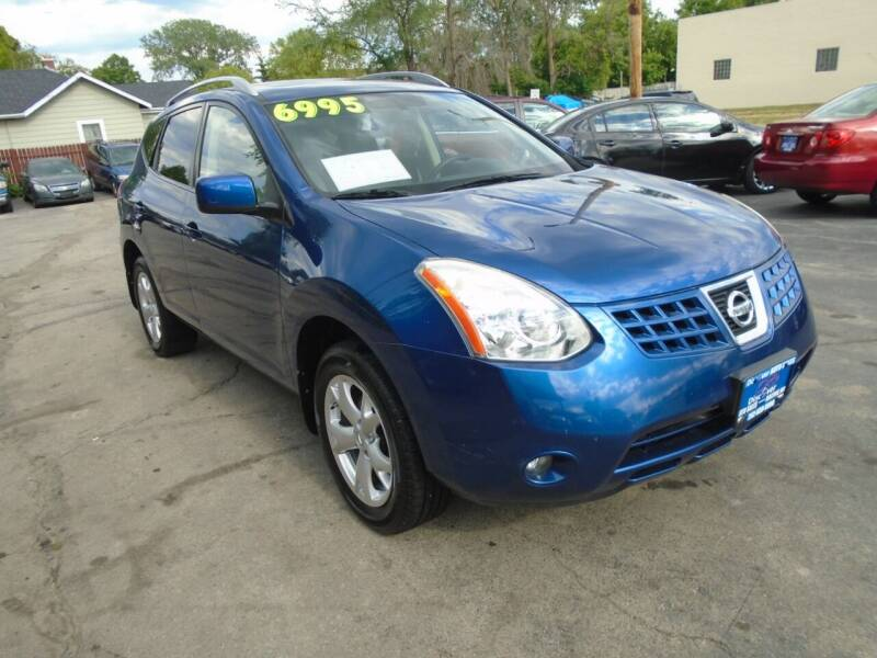 2008 Nissan Rogue for sale at DISCOVER AUTO SALES in Racine WI