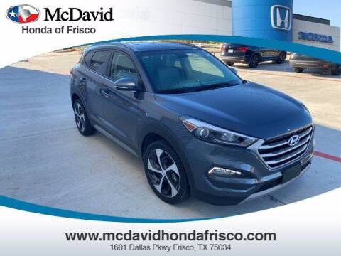 2018 Hyundai Tucson for sale at DAVID McDAVID HONDA OF IRVING in Irving TX
