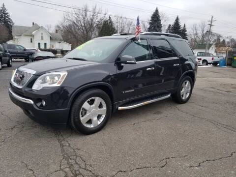 2008 GMC Acadia for sale at DALE'S AUTO INC in Mt Clemens MI