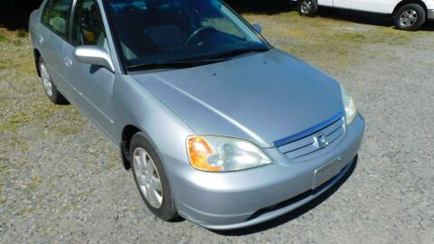 2002 Honda Civic for sale at M & M Auto Sales LLc in Olympia WA