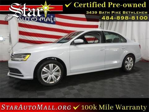 2017 Volkswagen Jetta for sale at STAR AUTO MALL 512 in Bethlehem PA