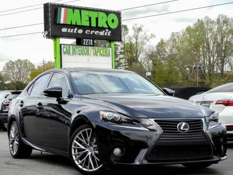 2014 Lexus IS 250 for sale at Used Imports Auto - Metro Auto Credit in Smyrna GA