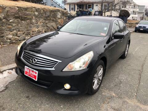 2011 Infiniti G25 Sedan for sale at Welcome Motors LLC in Haverhill MA