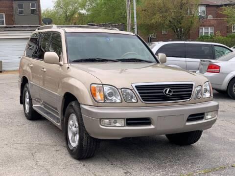 2000 Lexus LX 470 for sale at IMPORT Motors in Saint Louis MO