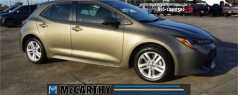 2020 Toyota Corolla Hatchback for sale at Mr. KC Cars - McCarthy Hyundai in Blue Springs MO