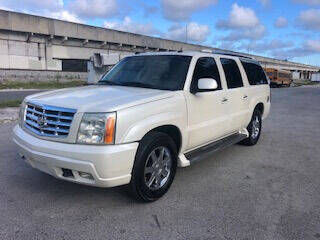 2005 Cadillac Escalade ESV for sale at Florida Cool Cars in Fort Lauderdale FL