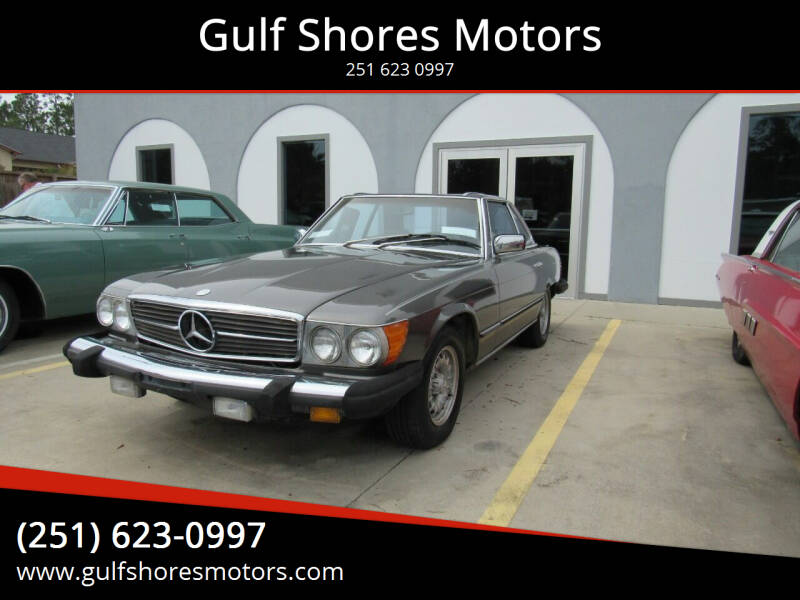 1980 Mercedes-Benz 450 SL for sale at Gulf Shores Motors in Gulf Shores AL