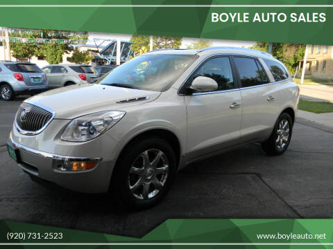 2010 Buick Enclave for sale at Boyle Auto Sales in Appleton WI
