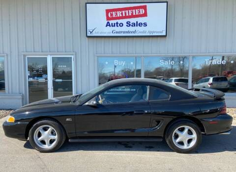 1994 Ford Mustang for sale at Certified Auto Sales in Des Moines IA
