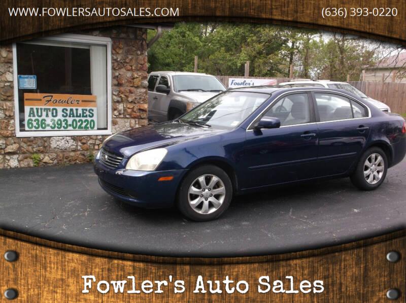 2007 Kia Optima for sale at Fowler's Auto Sales in Pacific MO