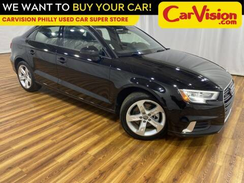 2017 Audi A3 for sale at Car Vision Mitsubishi Norristown - Car Vision Philly Used Car SuperStore in Philadelphia PA
