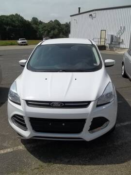 2016 Ford Escape for sale at Gilliam Motors Inc in Dillwyn VA