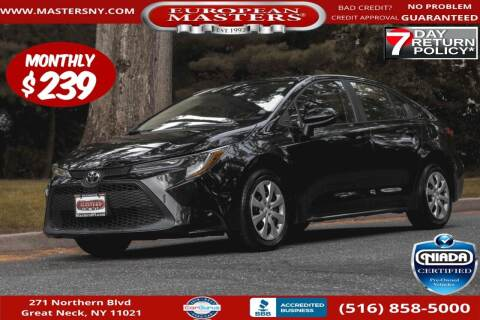 2021 Toyota Corolla for sale at European Masters in Great Neck NY