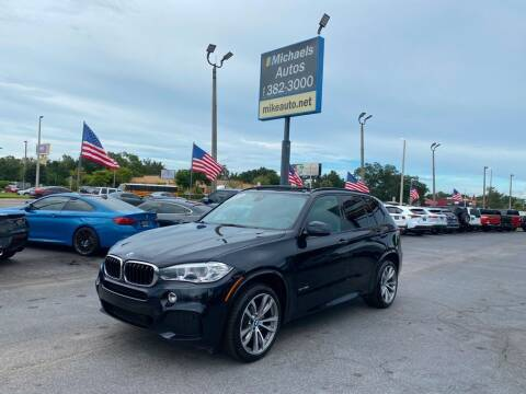 2017 BMW X5 for sale at Michaels Autos in Orlando FL