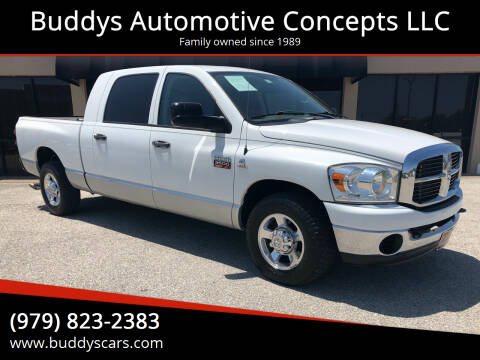 2007 Dodge Ram Pickup 3500 for sale at Buddys Automotive Concepts LLC in Bryan TX
